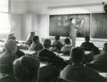 1955 Mr Rus Rix, Commerce Master Teaching Japanese