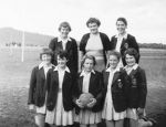 1951 Back Maureen Quinn Jo Grimsley Teacher Sue Angel Front 2cn Left Bev McGrath Joan Limbert Marylyn McGrath Unsure Barbare Wearne