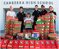 Canberra High School students