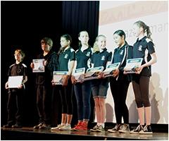 Winners of the Work safe Hazardman Short Film Competition