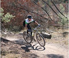 JLP Mountain Biking Club students enjoying weekly challenging rides