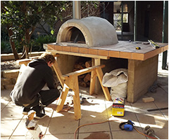 Pizza Oven built by students