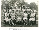1943 Girls Hockey with Miss Dunnicliff (2)
