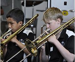 Trombones Year 7 Beginner Band