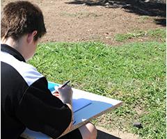 Students enjoying art classes