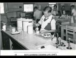 1940's Late Boys Learning Cooking