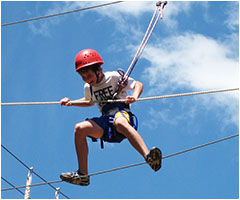 Being challenged and having fun on the Year 7 camp