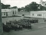 1942 School Assembly